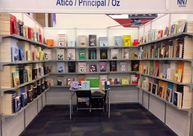 Atico de los Libros en la Feria de Guadalajara